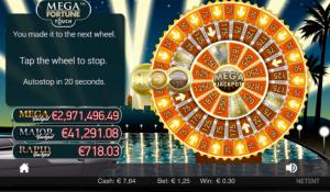 Registrera dig på Mr Green och börja få spela bonuasr inuti slotsspel som bland annat Mega Fortune!