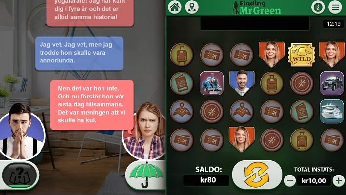 Spela Finding MrGreen på Mr Green!