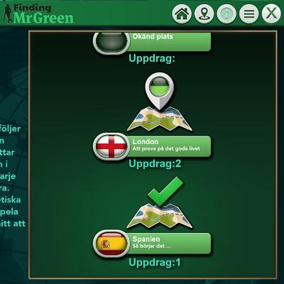 Spela Finding MrGreen hos Mr Green!