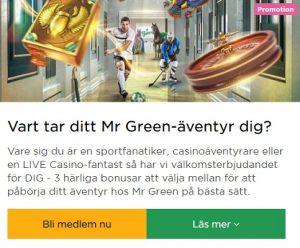 Crystal Land finns att spela på Mr Green!
