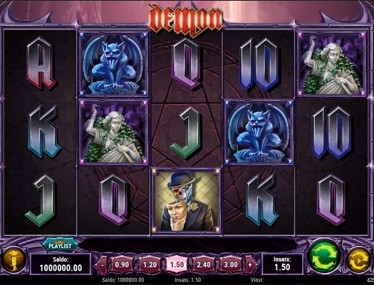 Det skrämmande bra slotsspelet Demon!