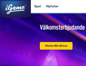 Spela på 10 utvalda spelautomater på iGame Casino nu!