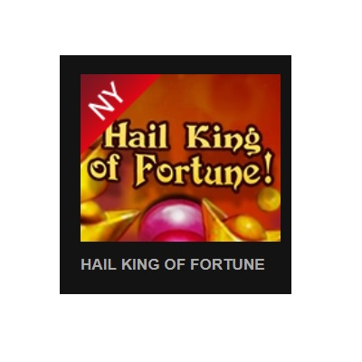 Färska slotsspelet Hail King of Fortune!