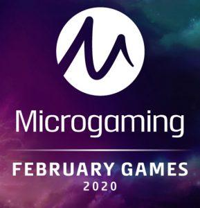 4 Nya slots från Microgaming i februari 2020!